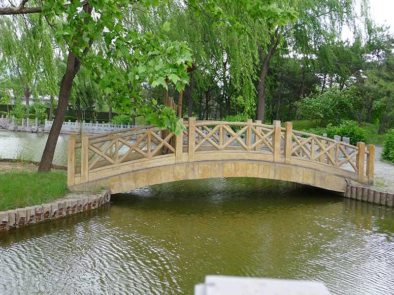 天寿陵园拱桥
