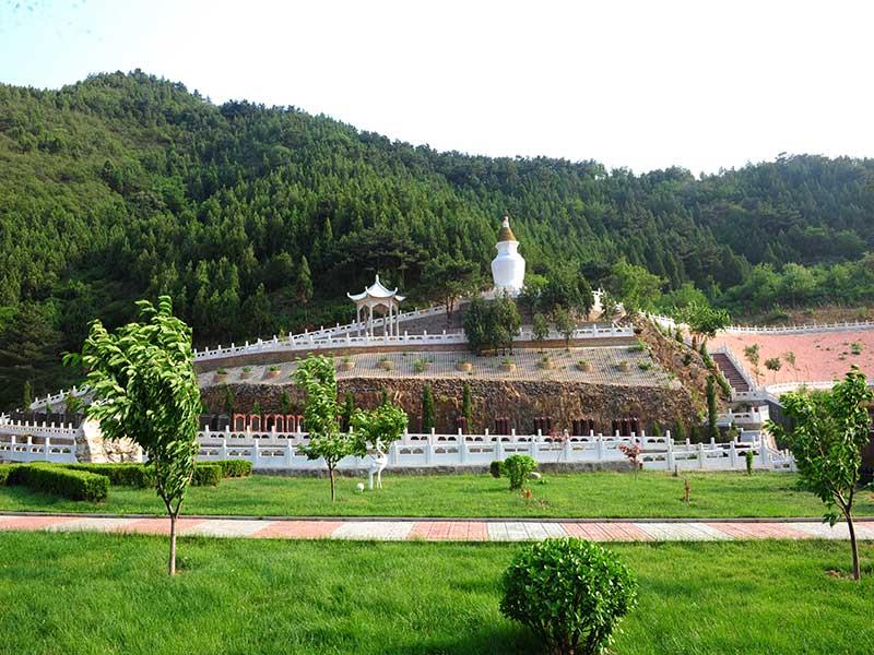 盘龙台陵园景观