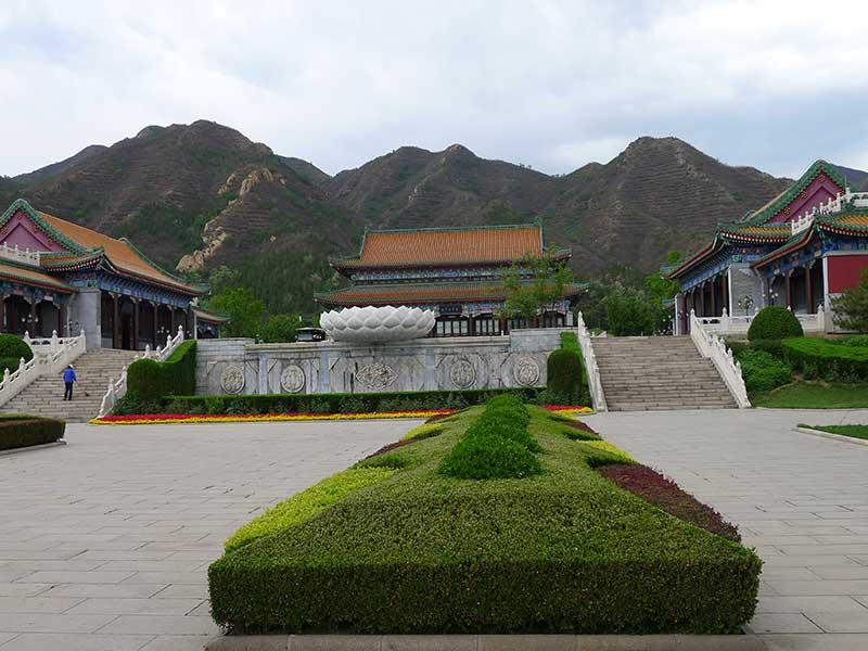 天寿陵园服务厅