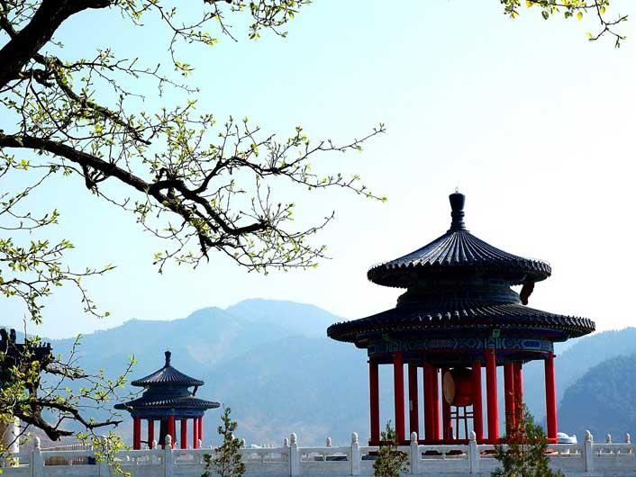 3清东陵万佛园景观