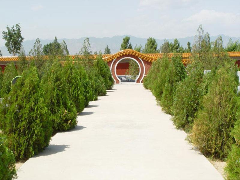 1陵园环境