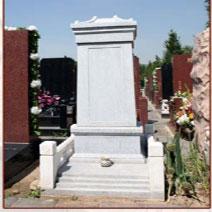 青白玉石料墓